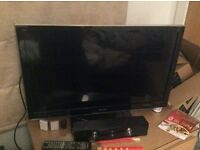 "32"" panasonic viera led tv, full hd 1080p, hdmi, freeview hd, hardly used, quick sale available"