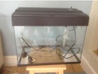 Fish Tank, filter and light - all in good working order
