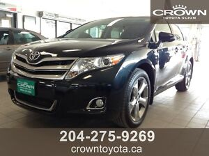 PRICE DROP! 2013 TOYOTA VENZA XLE V6 AWD! LOCAL, ONE OWNER! @ C