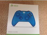 Blue Xbox One Wireless Controller