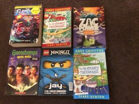 Various young readers books great condition