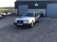 W124 4matic lhd full Mercedes service history in storage for a number of years driving perfectly