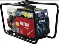 Mosa ts200 generator welder set