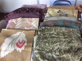 Large bundle upholstery/soft furnishing fabric