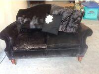 Antique framed but reupholstered sofas - need some TLC