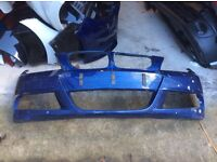 2009 ONWARDS BMW E90 E91 3 SERIES M SPORT LCI SALOON FACELIFT FRONT BUMPER GENUINE