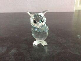 Swarovski crystal Night Owl