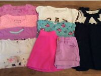 Bundle Of Baby Girl Clothes Size 18-24 Months