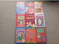 X9 Jacqueline Wilson books