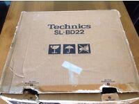 Technics turntable SL-BD22