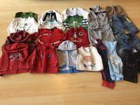 Big bundle of baby boys 6-9 month clothes - Baby Gap, Next, M&S, Umbro