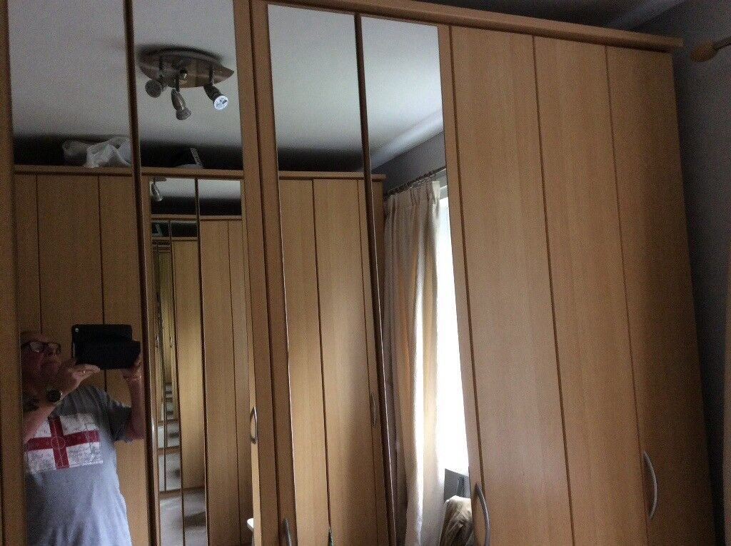Barker and Stonehouse wardrobe 90in x 90in x 24 in