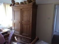 Lovely pine Wardrobe