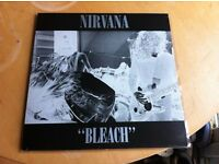 NIRVANA - BLEACH LP (RARE WHITE VINYL ON TUPELO - TUPLP6) 1 OF 300!!