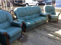 Italian 3 piece suite good condition free delivery