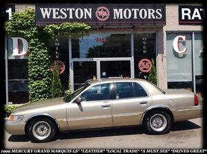 1999 Mercury Grand Marquis LS*LEATHER *LOCAL TRADE *DRIVES GREAT