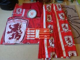Middlesbrough Beddding, curtains, wallpaper etc.