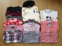 Boys 3 jumpers and 9 Shirts bundle 4-5 years old