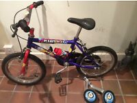 "Raleigh Planet Play 14"" boys bike"