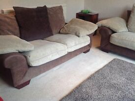 Sofa Set - 3 seater and 2 seater for sale. Good condition