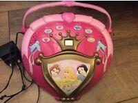 Disney Princess CD Player and Radio