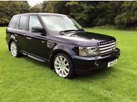 2007 RANGE ROVER SPORT HSE 2.7 AUTO STUNNING CONDITION ONE LADY OWNER