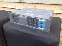 CLOUD VTX 750 QUALITY BUILT AMP 750 WATTS RMS