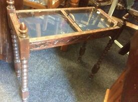 Small Victorian display table
