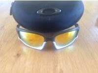 "Oakley ""Ducati"" Sunglasses with interchangeable polarised lenses - great condition"