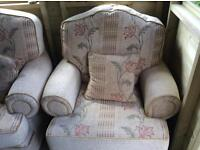 Two Seater Sofa & Armchair. £150 Ono. Can deliver.