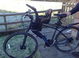 WeeRide front mounted children's bike seat