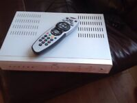 Working sky box and remote