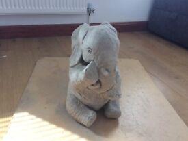 Concrete garden elephant ornament