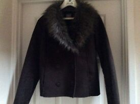 Brown swede jacket