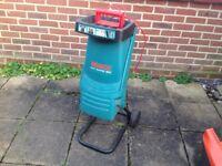 Used Bosch AXT Rapid 180 Garden Shredder