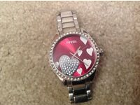 Beautiful ladies watch. Fossil. Great condition.