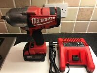 Milwaukee m18 1/2 inch impact wrench