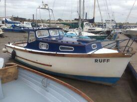 27ft diesel family cruiser/fishing boat