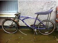 Raleigh Chopper Style Bike For spares repair