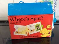 Where's Spot puzzle, great condition