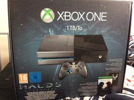 1tb Xbox one with 5 games