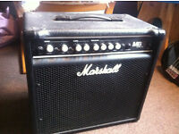 Marshall MB30 Combo Bass and Guitar Amplifier - 30 Watts