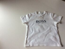 Hugo boss t shirt 18 months white