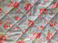 Cath Kidston Rosali very large quilted bed spread