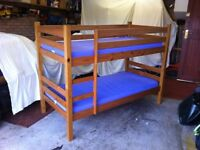 Bunk Beds by Bensons for Beds complete with mattresses and covers
