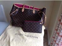 Louis Vuitton Monogram neverful large size GM 100% authentic