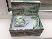 Cath Kidston Boxed Cup and Saucer Set