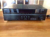 Yamaha RX-V375 stereo amp.