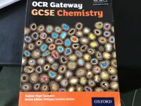 Ocr gateway gcse biology and chemistry books .2 books