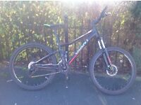 Giant full suspension bike good condtion £350ono
